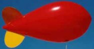11 ft. advertising blimp for sales and promotions.